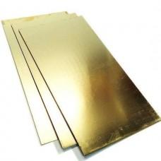 Латунный лист 0,4мм Л63 м