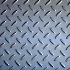 Лист рифлёный оцинкованный 3мм Ст3
