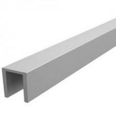 Алюминиевый швеллер 25х25 АМг5