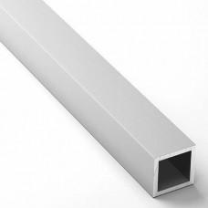 Труба проф. анодированная 10х10х1 серебро